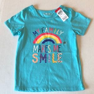 Toddler girl tee shirt size 4t